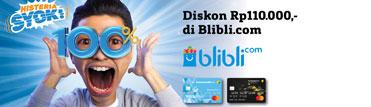 Diskon Rp110.000,- di Blibli.com