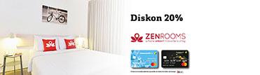 Diskon 20% di ZENRooms