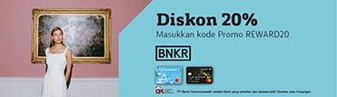 Diskon 20% di BNKR