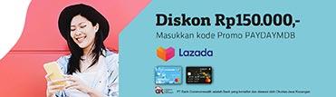 PayDay Deals - Diskon Rp150.000 di Lazada