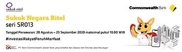 Sukuk Negara Ritel - seri SR013
