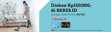 Diskon Rp150.000,- di BERES.ID