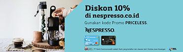 Diskon 10% di nespresso.co.id
