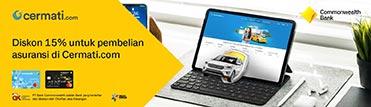Diskon hingga Rp500.000,- untuk pembelian asuransi di Cermati.com