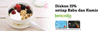 Lemonilo Diskon 15%