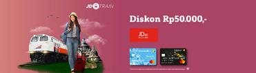 JD Train Discount IDR50.000,-