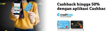 CashBac 50% Everyday
