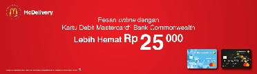 McDelivery Diskon 25Rb