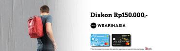 Wearinasia - Diskon Rp150.000,-