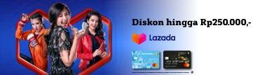 Lazada Diskon Rp250.000.-