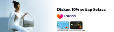 Lazada Discount 10% on Tuesday