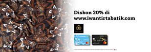 Iwan Tirta - Diskon 20%