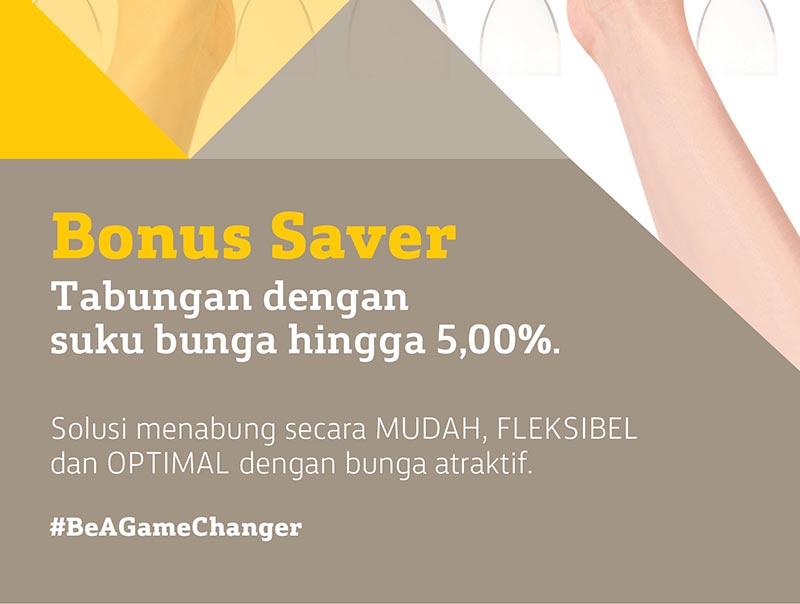 bonus saver